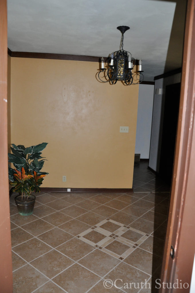 Entry before makeover 2