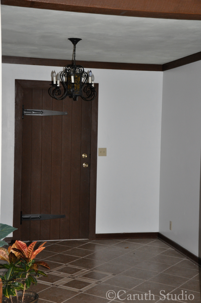 Entry before makeover 3