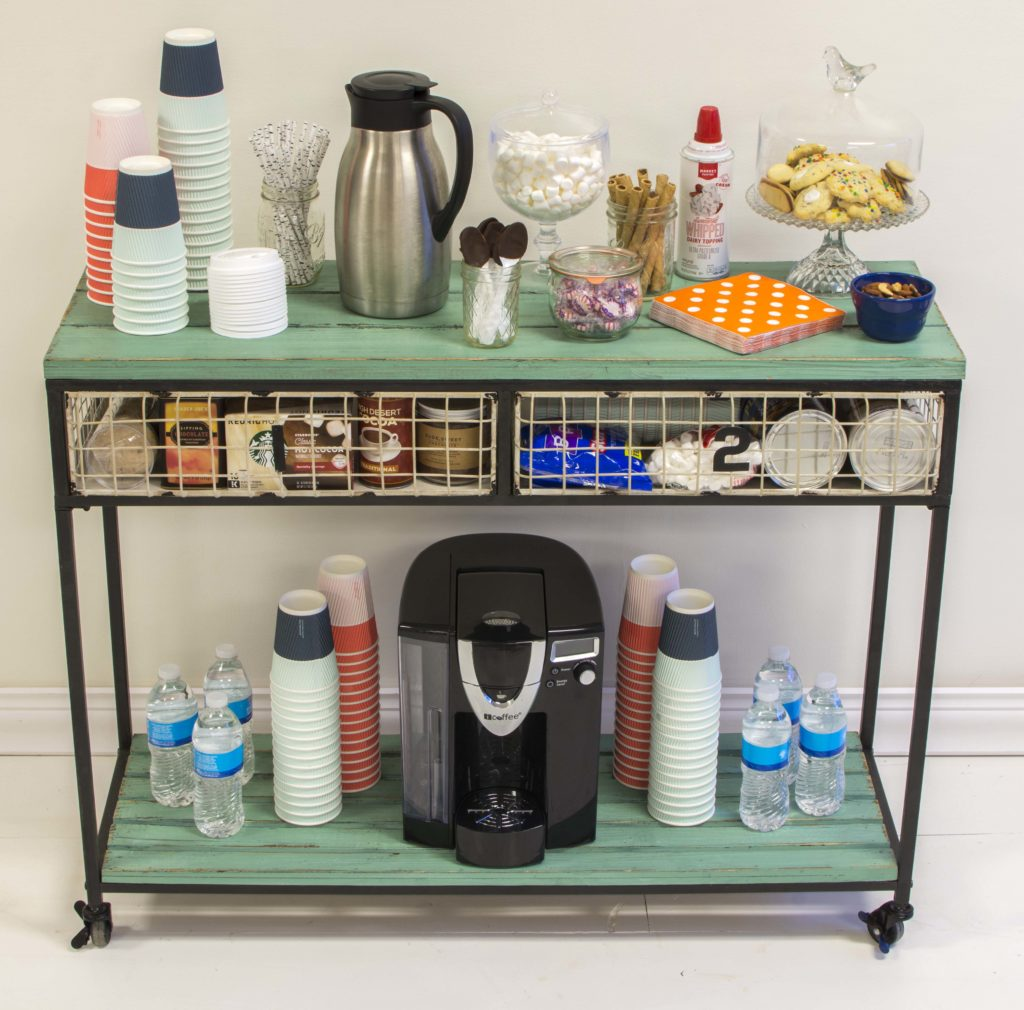 fully dressed cocoa bar