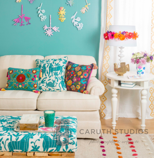 Otomi inspired living room
